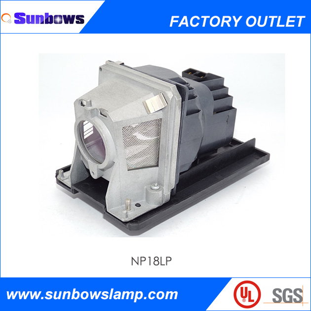 Sunbows For Replacement Projector TV Lamp NP18LP Fits NEC Projectors NP-V300X / V300X / V300XG / V300W / V300WG