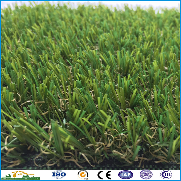 Popular colors comfortable synthetic garden grass turf for India markets