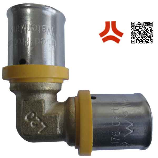 Union Type and Equal Shape aluminum plastic composite pipe fitting
