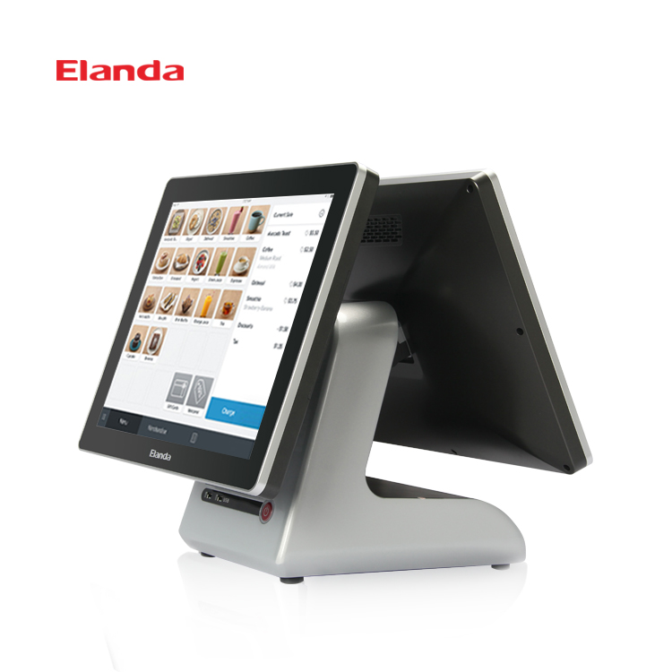 Elanda Touch Screen All In One Pos Machine Price Point of Sale System