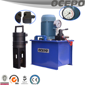 Steel rebar cold stamping machine/cold crimping coupler machine
