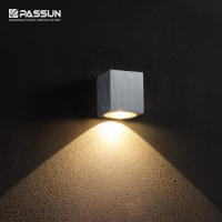 New mini 1w aluminum square cube wall lamp up and down led wall light for modern house