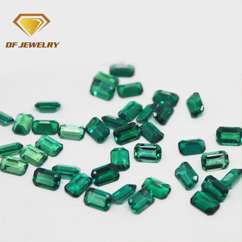 Wholesale emerald cut cubic zirconia stone price