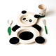 kids dinnerware set/bamboo fiber/dinner tableware set no melamine