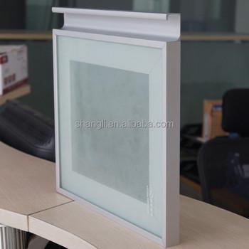 Kitchen Cabinet Glass Door Aluminium Frame Profile Sl6116