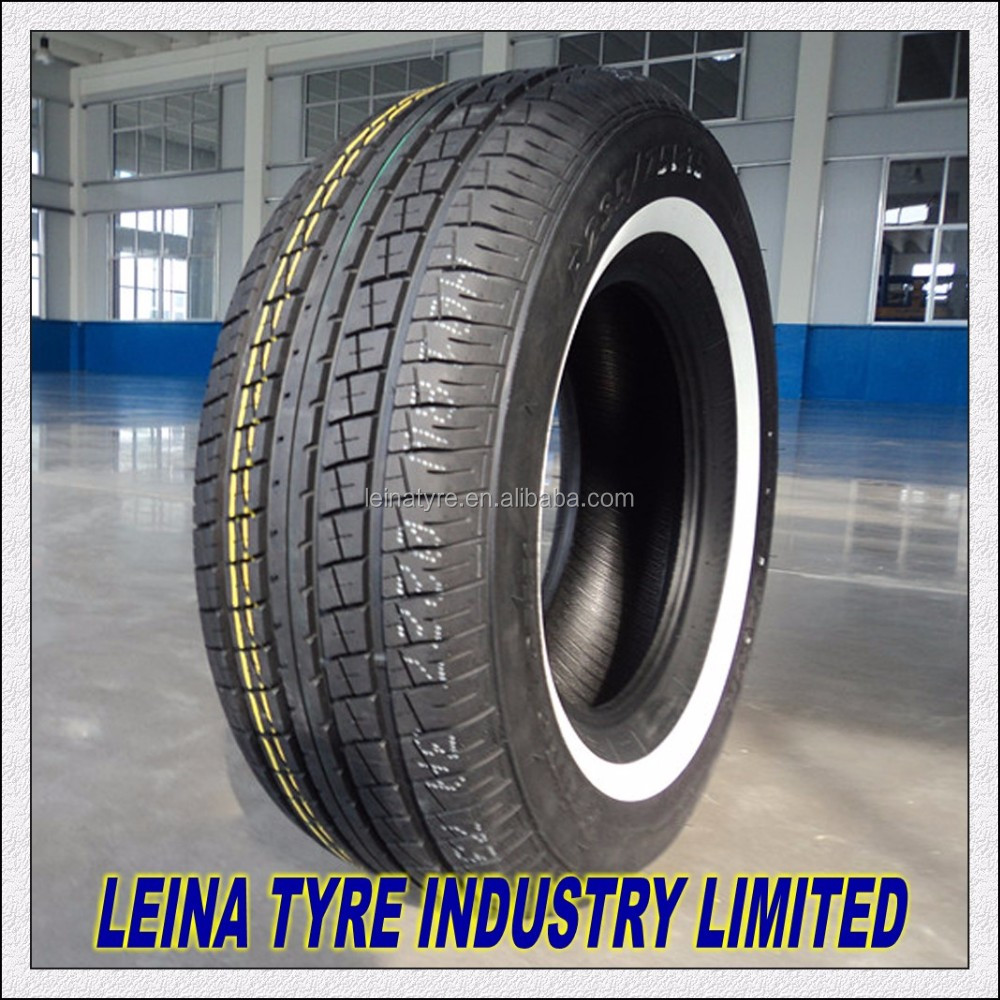 Radial commercial/van car tyre 205/75R14C 205/75R15C with white side wall WSW