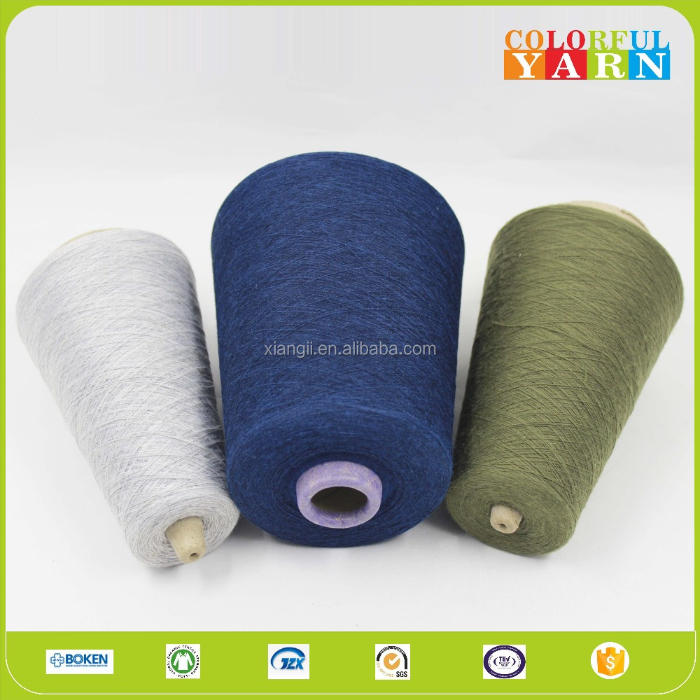 100% spun Polyester manufacture in china savage flannelette yarn