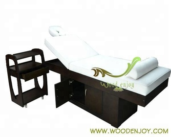 High-end beauty salon furinture,massage table 069# ,with a large Storage cabinet