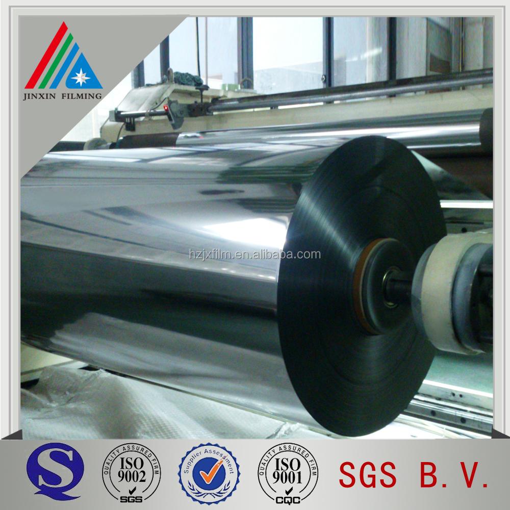 Metallized Polyethylene Terephthalate Polyester Film Roll - Buy Polyester  Film Roll,Pet Metallized Lamination Films,Polyethylene Terephthalate Film