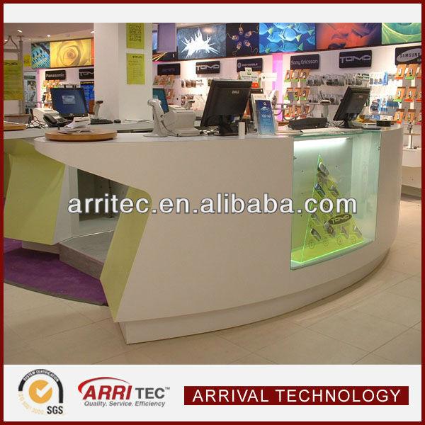 Modern Optical Retail Shop Counter Design