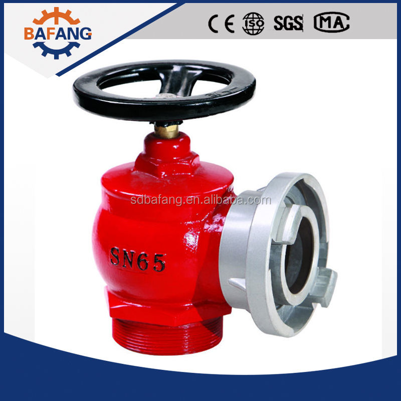 The rescue equipment SN65 type indoor fire fighting hydrant