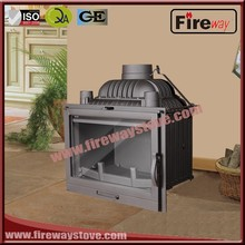 Own factory wood burning fireplace