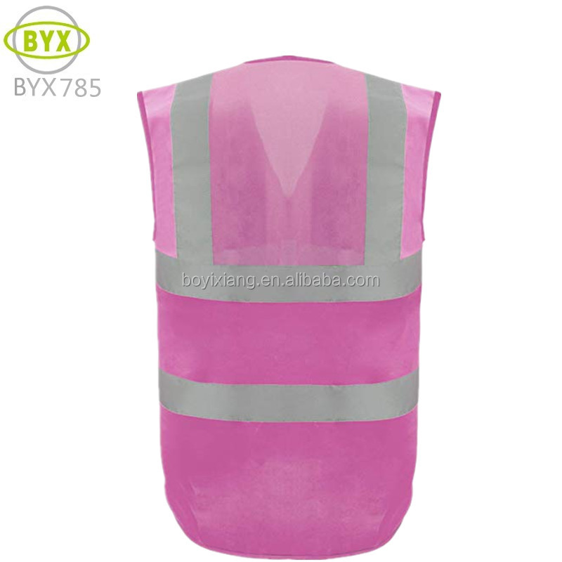 Safety reflecting woman vest wholesale