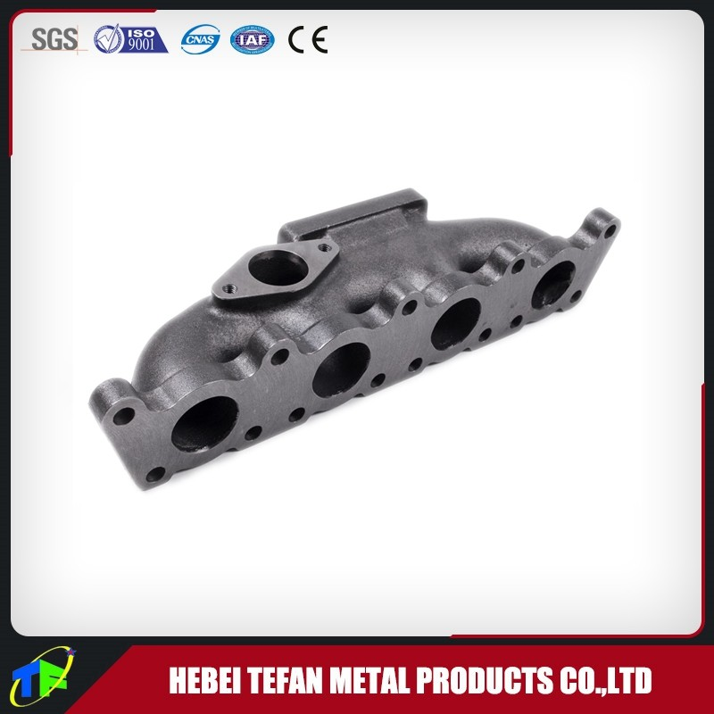 Cast Iron Exhaust Manifold / Cast Log Style Turbocharger Manifold