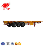2019 Factory low price low flatbed semi trailer for sale