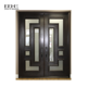 Front wooden painting gatehouse security doors