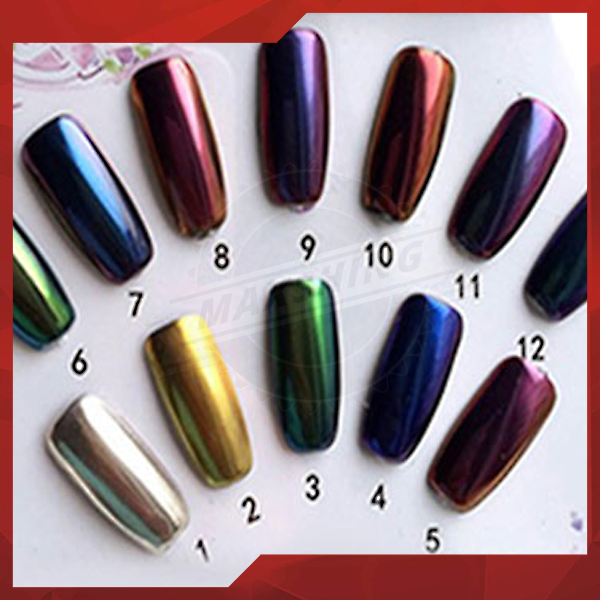 Bulk Holographic Rainbow Laser Powder Pigment Manicure Nail Art,holographic glitter powder for gel nail polish