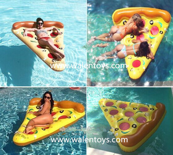 Inflatable Pizza Floats,Pizza Slice Water Bed,Pizza Floating ...