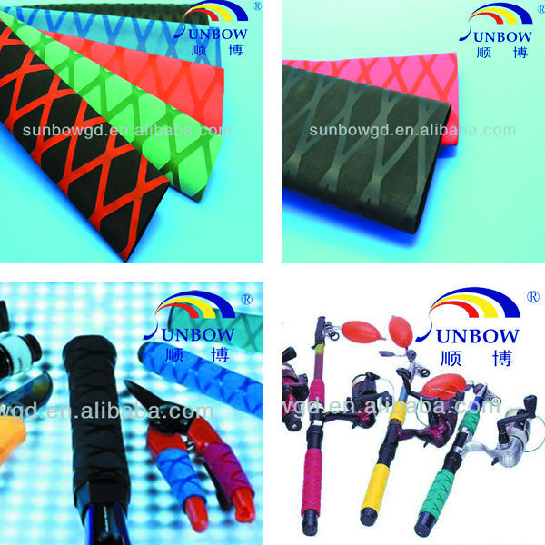 Decorated Non Slip Heat Shrink Wrap Tubing For Fishing Rod