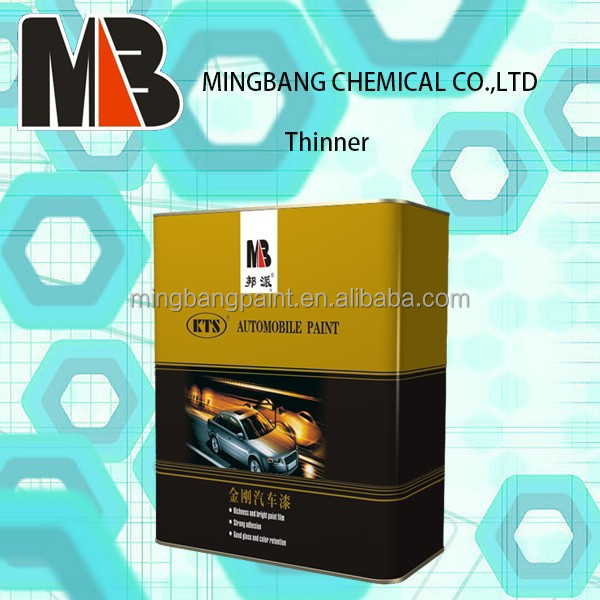 Hot sales car lacquer thinner for car refinish paint