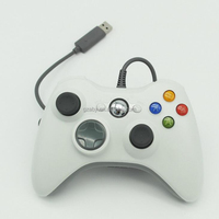 USB Wired Cord Game Gaming Controller Joystick for Laptop XP WIN8 WIN7 PC Compatible Platform