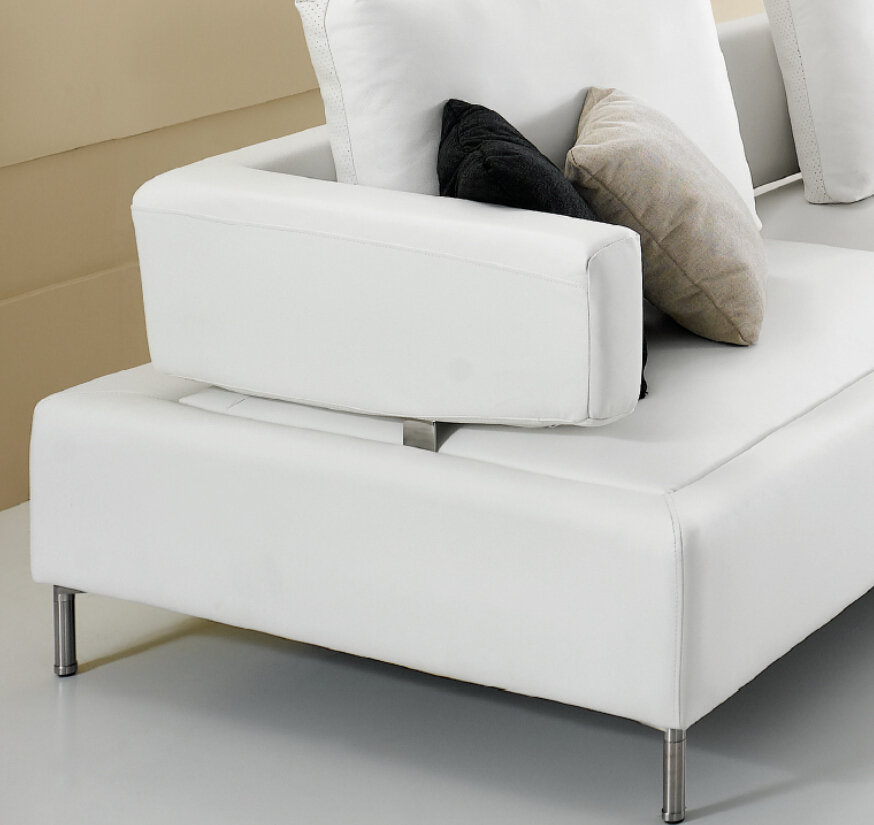 modern noble white leather japanese style sofa fancy sofa. Black Bedroom Furniture Sets. Home Design Ideas