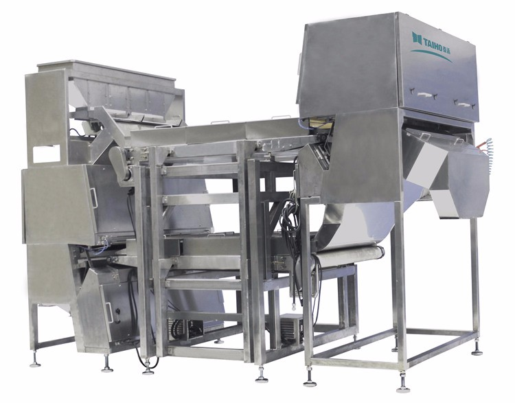 glass sorting machine, glass color sorter