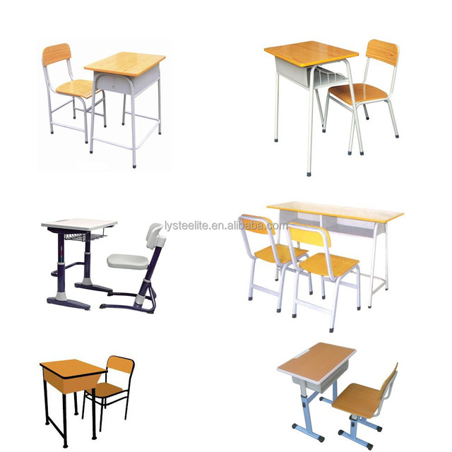 Mini School Desk And Chair Furniture Wooden School Desks And Chairs Middle  School Student Desk And