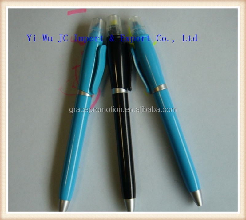 2014 New design plastic ballpoint pen with eraser
