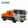 50m3 diesel engine mobile concrete pump truck korea for sale