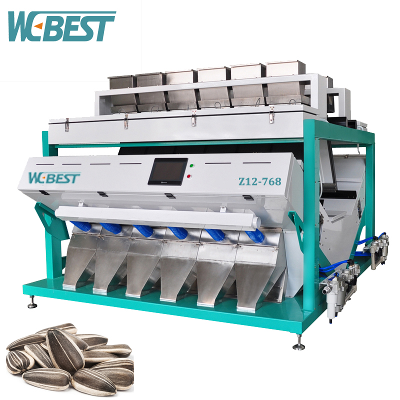 Agricultural Machinery In Sunflower Seeds Processing Equipment In Hefei/Sunflower Seed Color Sorter
