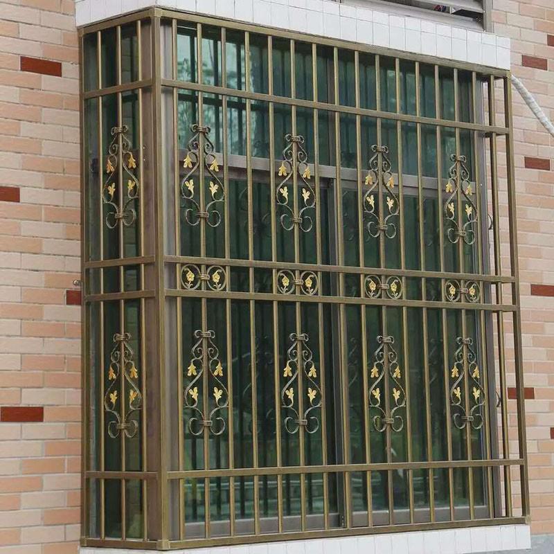 2017 High Quality Security Window,Wrought Iron Window