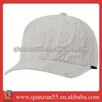 baseball cap white acrylic plain ball cap blank fitted 6 panel hat