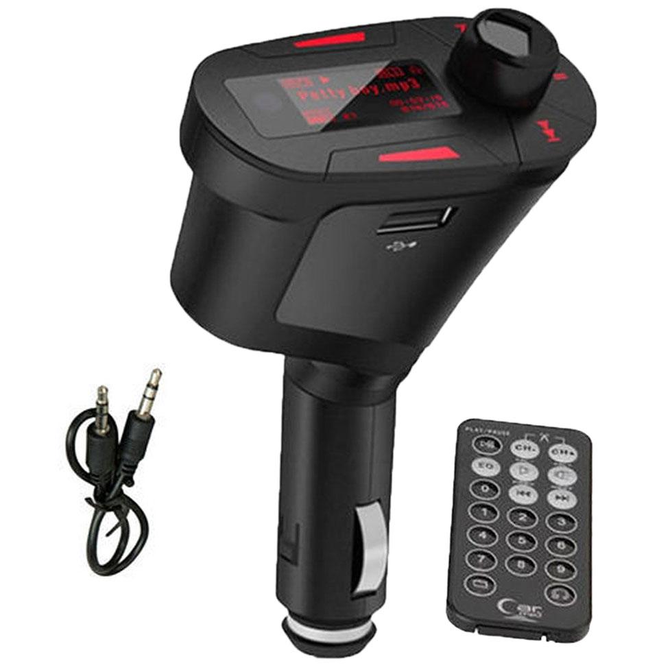 Kit LCD высокая скорость MP3 плеер беспроводной FM передатчик USB 2.0 SD карт памяти MMC с высоким quanlity красный