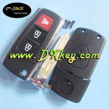 Topbest 2+1 button key car remote shell for proton key
