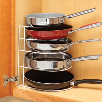 Kitchen Storage Pot Pan Organizer Shelf