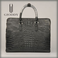 Fashion branded Gioddy bags leather handbag for men