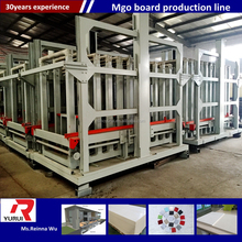 wreath making machine/mgo board product line/vibration mgo panel making machine