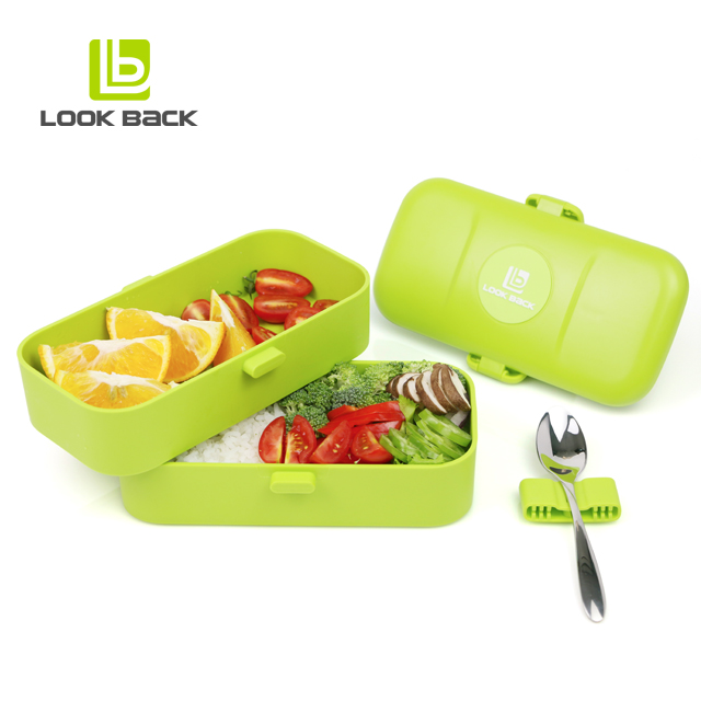 Amazon Hot 4 components lunch plastic bento box
