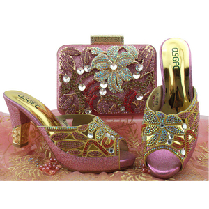 Italian Design African Shoe And Bag 47bf354347fd