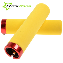 ROCKBROS EVA Foam Riding Bike Lockable Handlegrips MTB Fixed Gear Cycling Grips Bicycle Handlebar Lock-on Grips ,6Color