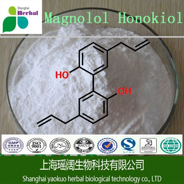 Sell high quality magnolia bark extract,cas no:528-43-8,whitening products