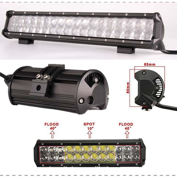 Sunfax High Power 4d Optic Lens Led Light Bar 36inch 234w Osr Car ...