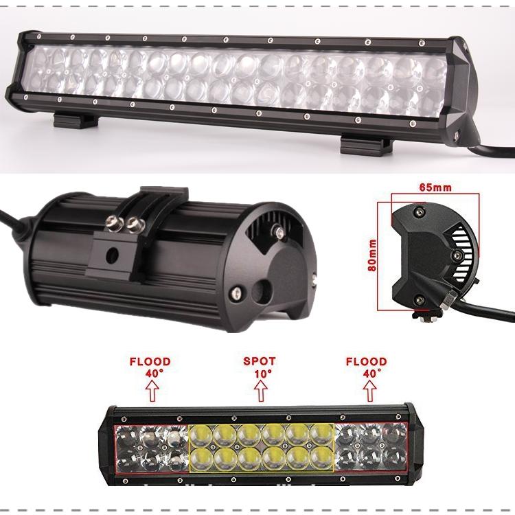 Sunfax High Power 4d Optic Lens Led Light Bar 36inch 234w Osr Car ...