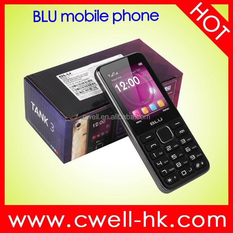 Blu Tank 3 T430 2 4 дюймов разблокирована MTK6260 Dual SIM карты 0 08MP  задняя камера 1900 мАч батареи Multi-Color сотовый телефон 7ea8f6f9249