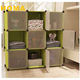 Elegant storage cubes used for home usage for multi use