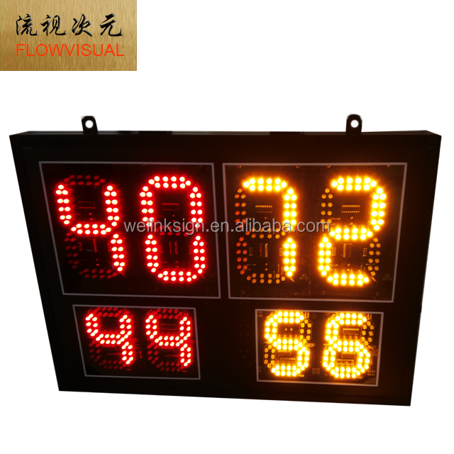 Portable outdoor football games LED score board