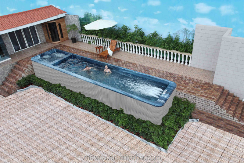 Whirl Pool/swimming Pool/outdoor Spa/ Hot Tub Ws S10   Buy Endless Swimming  Pool,Home Swimming Pool,Garden Swimming Pool Product On Alibaba.com