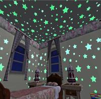 wall sticker star glow in the dark for Kids Room Decor