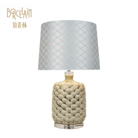 Cheap fancy modern hotel decorative led bed side table lamp